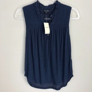 Lucky Brand Blue Tank S NWT